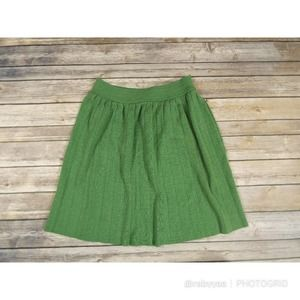 🌟3 FOR $35🌟Italian Wool Green Skirt